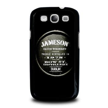 jameson whiskey samsung galaxy s3 case cover  number 1