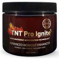 TNT Pro Ignite Stomach Fat Burner Body Slimming Cream With HEAT Sweat Technology - Thermogenic Weight Loss Workout Enhancer (12 oz)