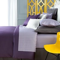 Charter Club Damask Stripe 500 Thread Count Bedding Collection - Bedding Collections - Bed & Bath - Macy's
