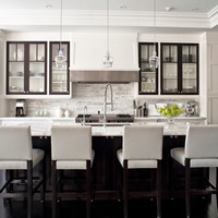 City Home - transitional - Kitchen - Toronto - Jennifer Worts Design Inc.