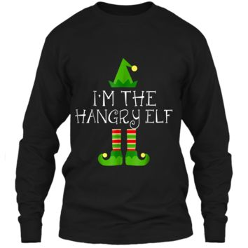 I am The Hangry Elf Matching Family Group Christmas  LS Ultra Cotton Tshirt