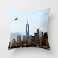 New York Throw Pillow by Haroulita | Society6