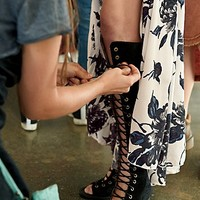 Jeffrey Campbell + Free People Womens Perspective Heel