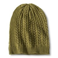 Xhilaration® Beanie Hat - Olive Green