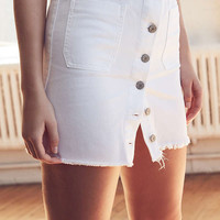 BDG Button-Front Denim Mini Skirt | Urban Outfitters
