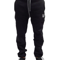 "Men's ""IA"" Sweatpants by Inkaddict (Black)"
