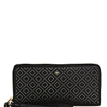 Tory Burch - Robinson Stitched Leather Wristlet Wallet - Saks Fifth Avenue Mobile