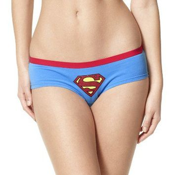 Women's Superman Panty - Blue