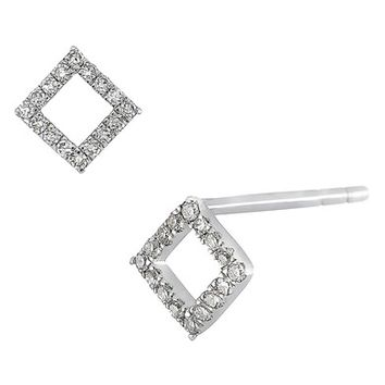 Carrière Small Diamond Shape Stud Earrings (Nordstrom Exclusive) | Nordstrom