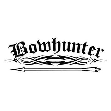 Bow Hunter  Vinyl Car/Laptop/Window/Wall Decal