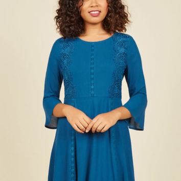 Musical Cherish A-Line Dress | Mod Retro Vintage Dresses | ModCloth.com