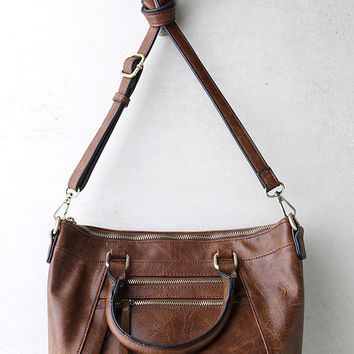 Each and Every Moment Brown Handbag