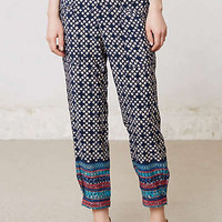 Anthropologie - Tapered Starflower Pants