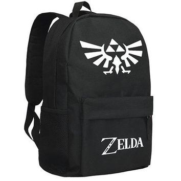 Japanese Anime Bag New The Legend of Zelda Breath of the Wild Cosplay Backpack Cartoon Bag Luminous  Oxford Schoolbag AT_59_4