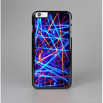 The Neon Glowing Strobe Lights Skin-Sert Case for the Apple iPhone 6 Plus