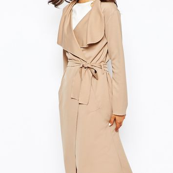 Boohoo Waterfall Light Weight Jacket