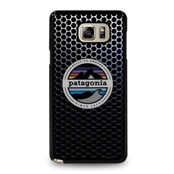PATAGONIA FISHING BUILT TO ENDURE Samsung Galaxy Note 5 Case Cover