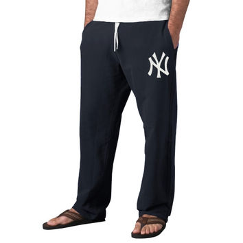 47 Brand New York Yankees Varsity Warm-Up Pants - Navy Blue