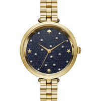 kate spade new york Women's Holland Gold-Tone Stainless Steel Bracelet Watch 34mm KSW1211 - Watches - Jewelry & Watches - Macy's