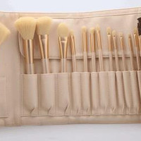 High End Luxury Professional Portable 18pcs Makeup Brushes Set Cosmetic Tool Beauty Cosmetic Foundation Cream _ 3486