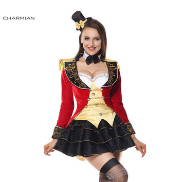 Charmian Halloween Costume for Women Victorian Gothic Dress Halloween Carnival Cosplay Costume Fantasias Feminina Para Festa