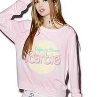 Wildfox Couture California Dream Baggy Beach Jumper Flushed