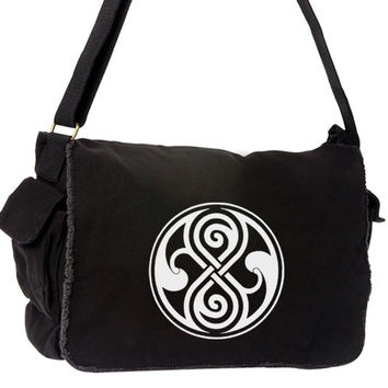 Doctor Who Rassilon Large Messenger Bag