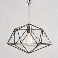 Diamond by Anthropologie in Pewter Size: