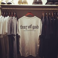 Fear of God Print  Tees