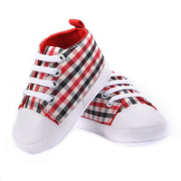 Infant First Walker Toddler Newborn Baby Boys Girls Soft Sole Crib Casual Shoes Sneaker 0-18M