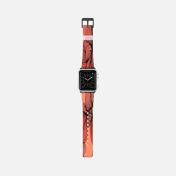 Retro orange Apple Watch Band (38mm) by DuckyB | Casetify