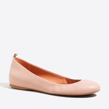 Anya leather ballet flats