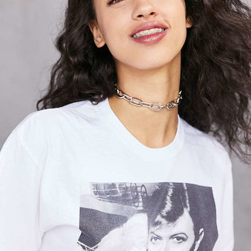 Vanessa Chain Choker Necklace - Urban Outfitters