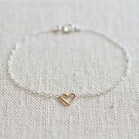 "SHIP FREE ""Mix Twin"" Bracelet (Sterling Silver)"