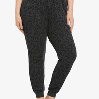 Torrid Active - Leopard Terry Jogger Pants