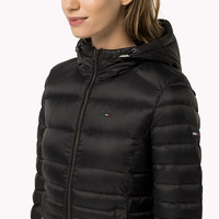 Quilted Puffer Jacket | Black | Tommy Hilfiger® | 8719253684159
