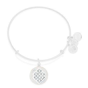 Endless Knot Art Infusion Charm Bangle