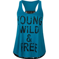 FULL TILT Young Wild & Free Womens Tank 206110246 | Graphic Tees & Tanks | Tillys.com