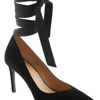 Maisy Ribbon Tie Pump | Banana Republic