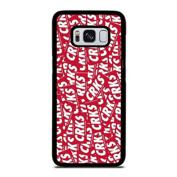 CROOKS AND CASTLES CAN'T RESIST Samsung Galaxy S3 S4 S5 S6 S7 Edge S8 Plus, Note 3 4 5 8 Case Cover