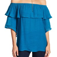 Harve Benard | Off-the-Shoulder Bell Sleeve Top | Nordstrom Rack