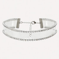 CRYSTAL CLEAR CHOKER
