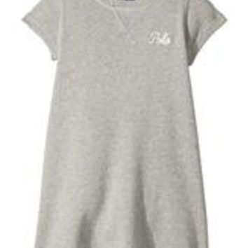 RALPH LAUREN Polo Girls French Terry Pull On Dress
