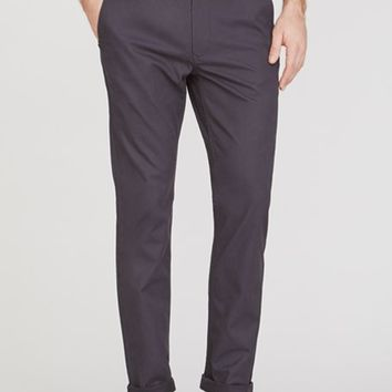 Bonobos - Slim Tailored Washed Chinos, Chino Grigios