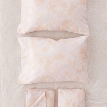 Subtle Tie-Dye Sheet Set - Urban Outfitters