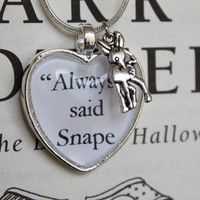 Harry Potter ''Always' said Snape' by PrettyLittleCharmsUK on Etsy