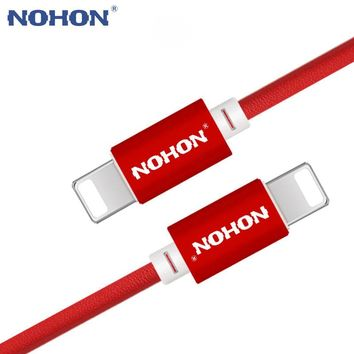 NOHON For iPhone USB Cable 8Pin Fast Charging Cable For Apple iPhone 8 7 6 6S 5 5S iOS 10 9 Mobile Phone Charger USB Cables Wire