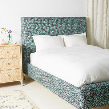 Liberty for Anthropologie Feather Fan Edlyn Bed