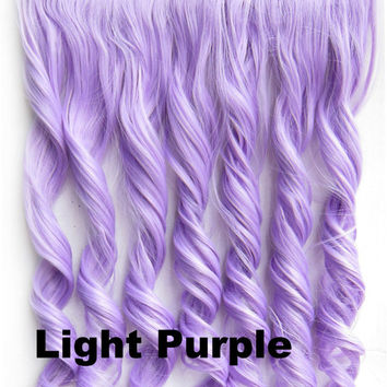 Uniwigs 20 ombre purple curly heat from amazon light purple ombre colorful candy 5 clip in hair extensions 1weft5pcs body wave texture pmusecretfo Images
