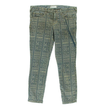 Free People Womens Denim Isla Wash Jeans